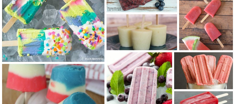 Homemade Popsicles – Delicious Dishes Recipe Party #77