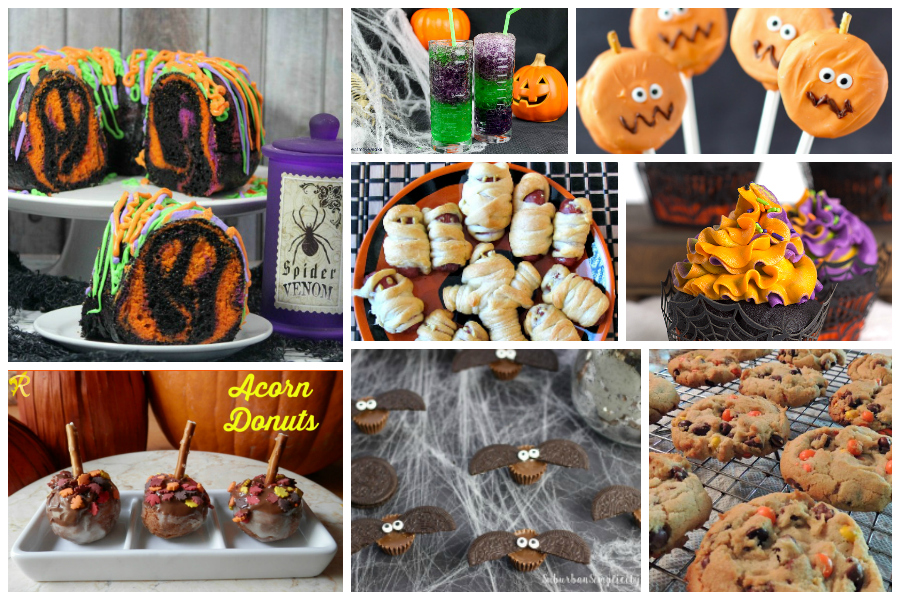 Halloween Party Treats - Delicious Dishes Recipe Party #90