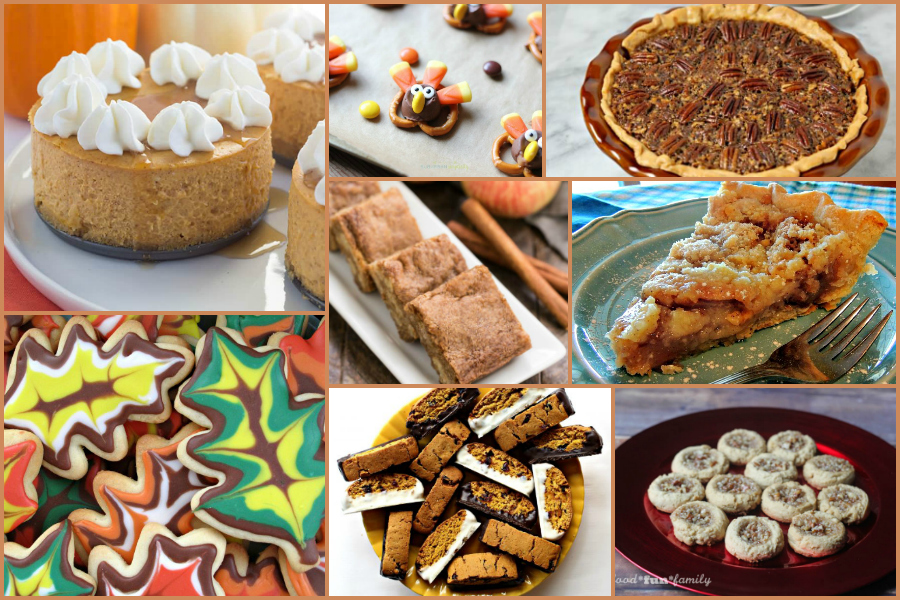 Thanksgiving desserts feature