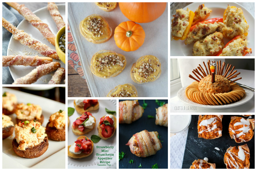 Amazing Thanksgiving Appetizers - Delicious Dishes Recipe Party #94