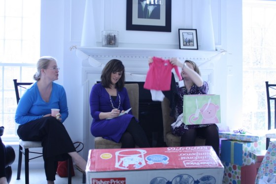 Gift Giving at Baby Shower