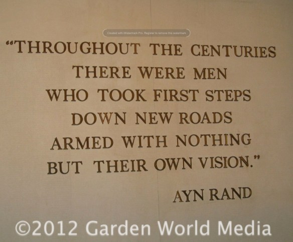 Ayn Rand Quote About Visionaries