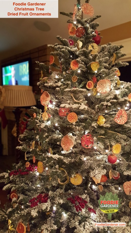 Family Room Chandelier Diy Dried Fruit Ornaments: Use A Dehydrator To Dry Fruit