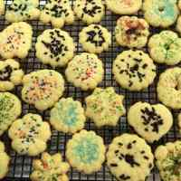 Spritz Sprinkle Cookies: Grandma's Tradition Continues