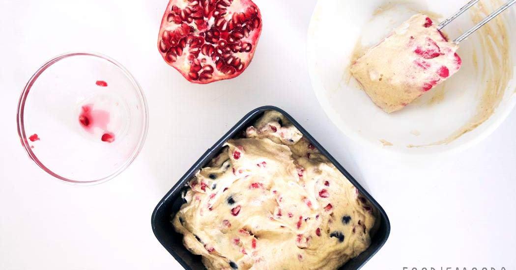 granaatappelcake recept miss foodie