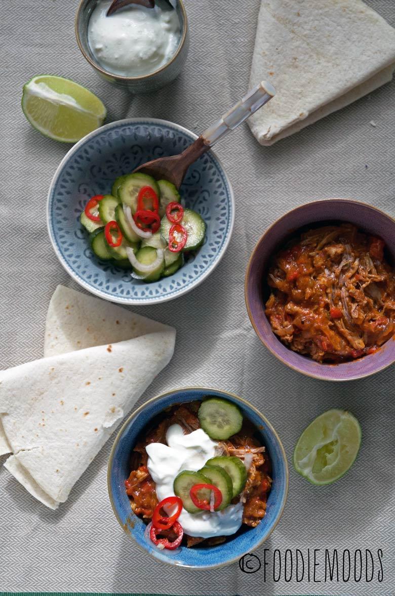 Pulled pork op z'n Mexicaans 2 recept Miss Foodie Foodiemoods