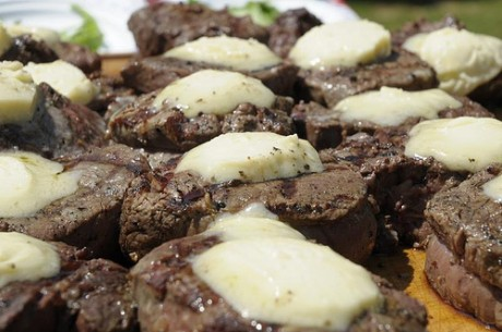 BBQ Bootcamp Steak with Gorgonzola Butter