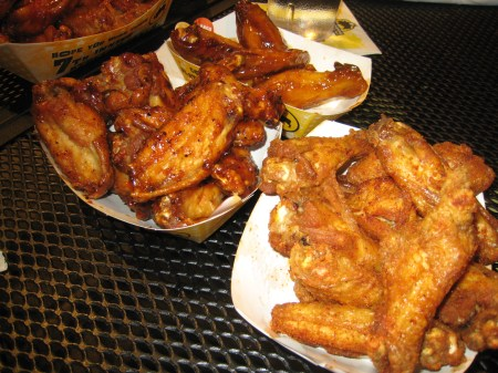 Garlic Wings Grill