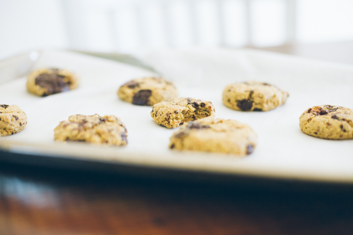 in praise of the international grocery and, chickpea chocolate chip cookies