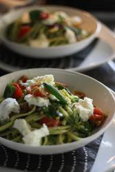 Caprese Pasta or How to Include More Mozzarella di Bufala in Your Diet