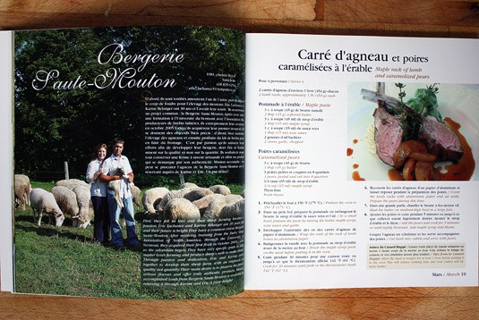 An excerpt from the book Farmers in Chef Hats by Linda Arsenault