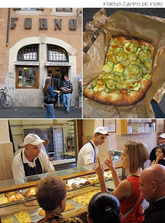 Forno Campo de Fiori: Pizza by weight