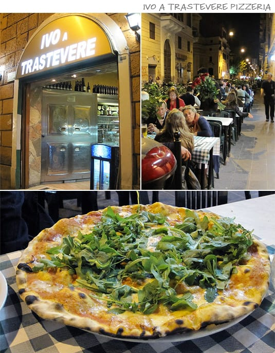 Ivo a Trastevere: Pizza, fried food