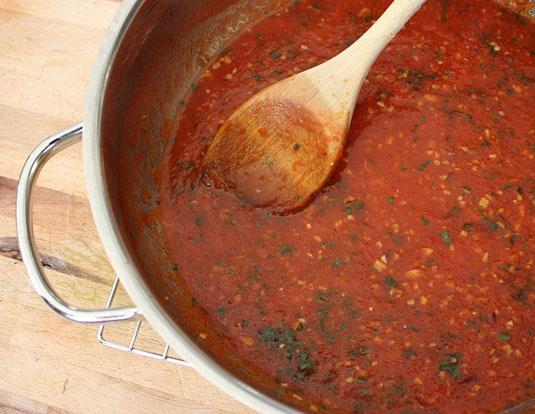 Light Tomato Sauce