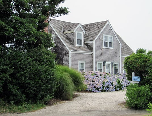 A beautiful house in Nantucket