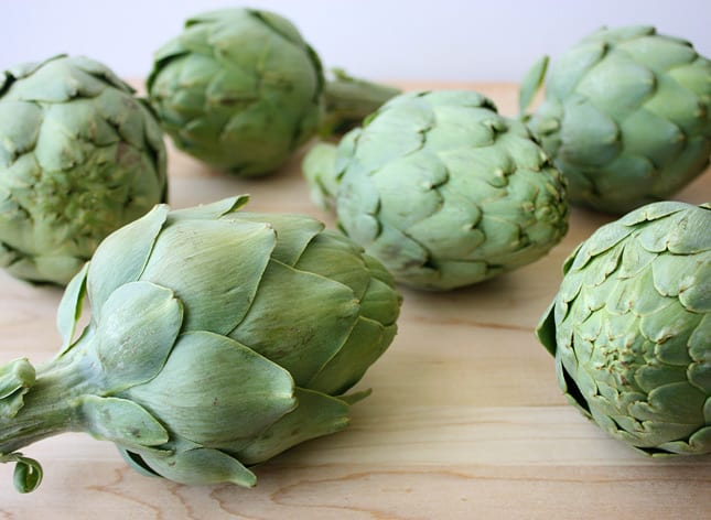 Artichokes, artichokes, artichokes