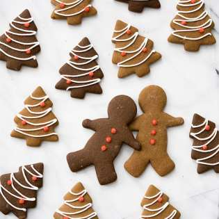Classic Gingerbread Cut-Out Cookies, by Lindsey at Love and Olive Oil // FoodNouveau.com
