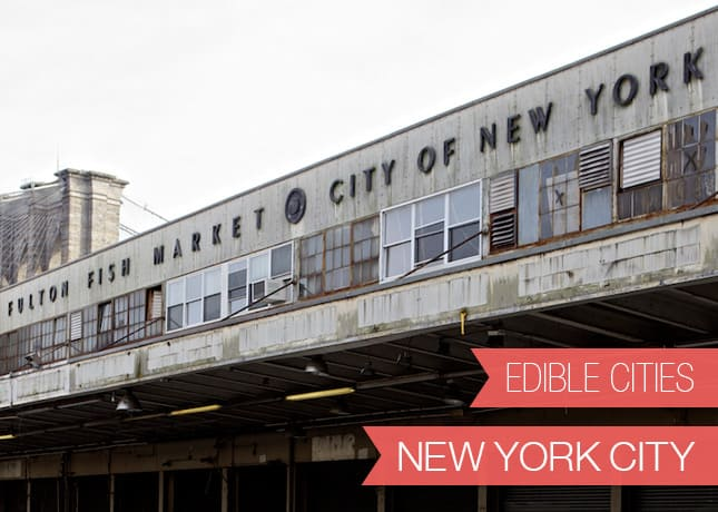 {Edible Cities} New York City, with Albane & Evi from Whip+Click