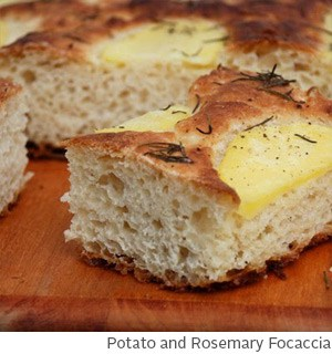 Potato and Rosemary Focaccia by Amy McCoy // FoodNouveau.com