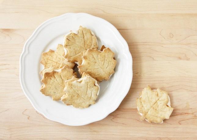 Homemade Maple Leaf Cookies // FoodNouveau.com