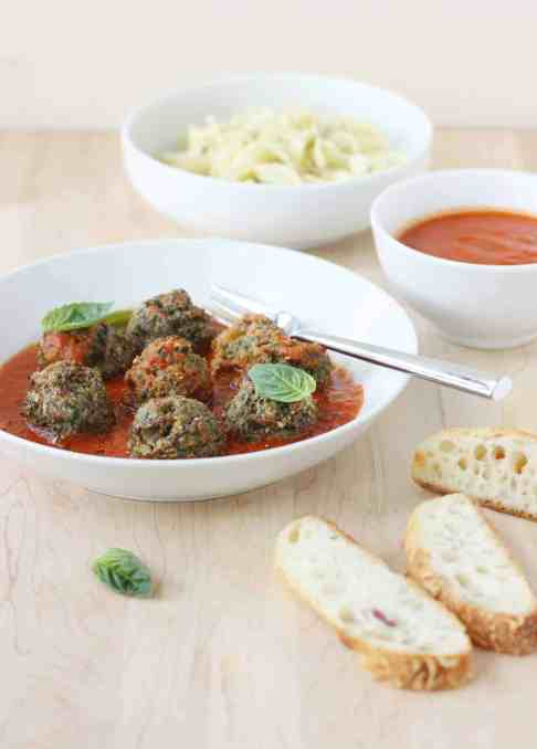 Book Review and Giveaway: The Clever Cookbook + Recipe: No-Roll Turkey Meatballs with Spinach and Raisins