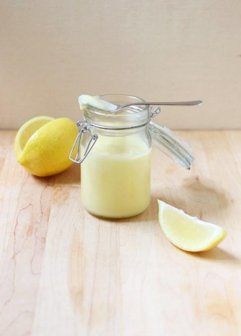 Lighter Lemon Curd