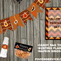 Free Halloween Party Printable Set