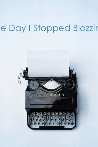 The Day I Stopped Blozzing