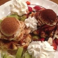 Tealips Bubble Tea & Coffee: Waffles in South Burnaby