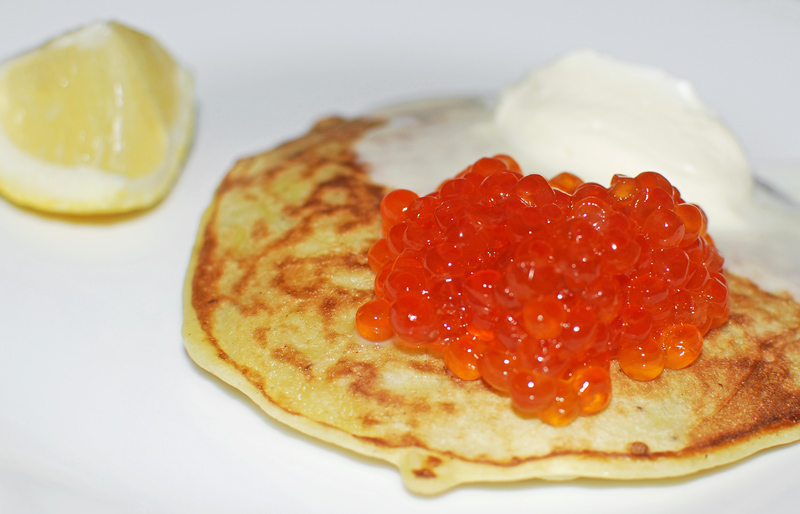 Blini and Oladi, Russian Pancakes
