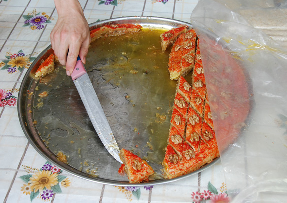 Azerbaijan Cuisine - Road to Quba - Pakhlava Shop