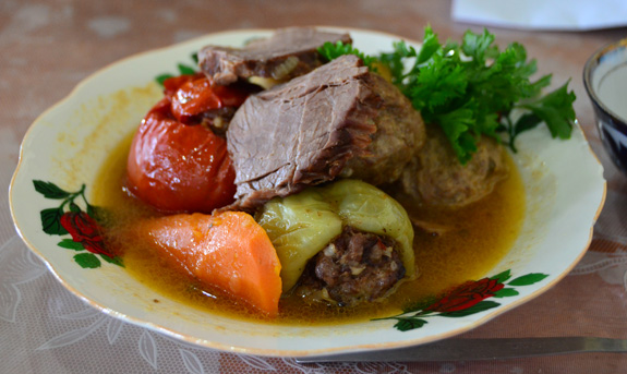 Tashkent - National Food Restaurant - Dolma Shurpa