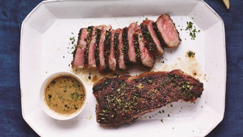 french steak au poivre recipe