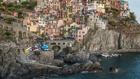 Cinque Terre is characterized by five pastel-hued fishing villages built into a Liguria coastline. Photo: Zio & Sons.