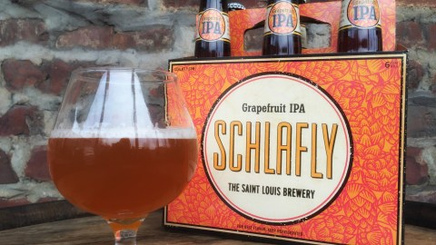 St. Louis's Schalfly introduced its grapefruit IPA this past December.