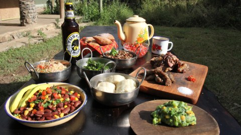 Kenya's diverse history is one of the reasons for its mixed cuisine. (Photos: Keith Flannagan.)