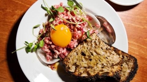 NYC's best steak tartare