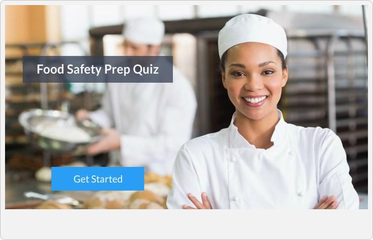 Food Safety Prep Quiz - Mobile Food Safety Test - food safety quiz