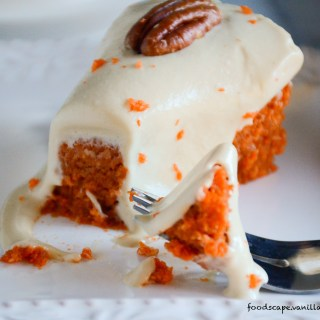 Two Story Vegan Carrot Cake