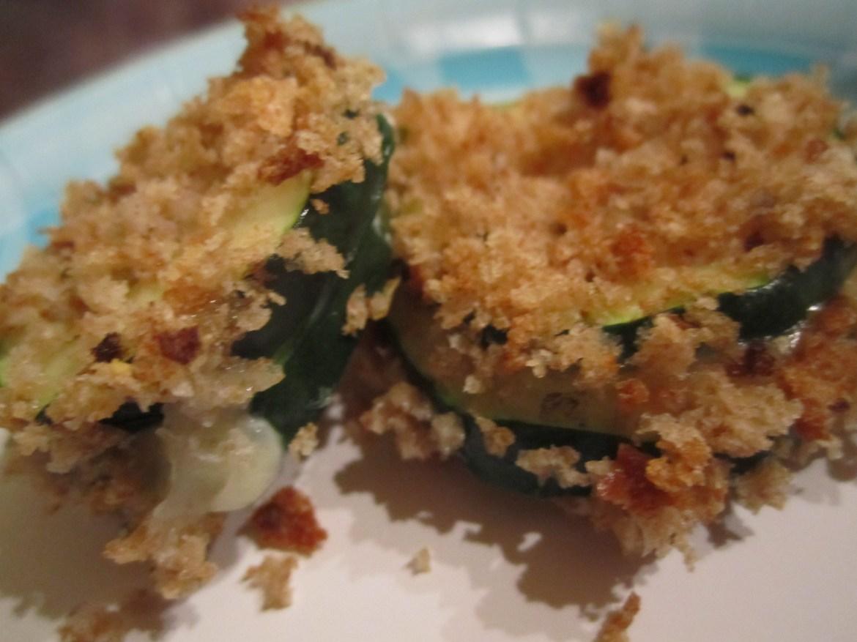 Zucchini Fontina Bites