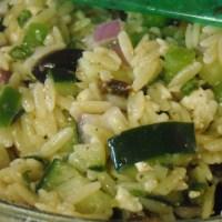 Meatless Monday: Greek Orzo Salad