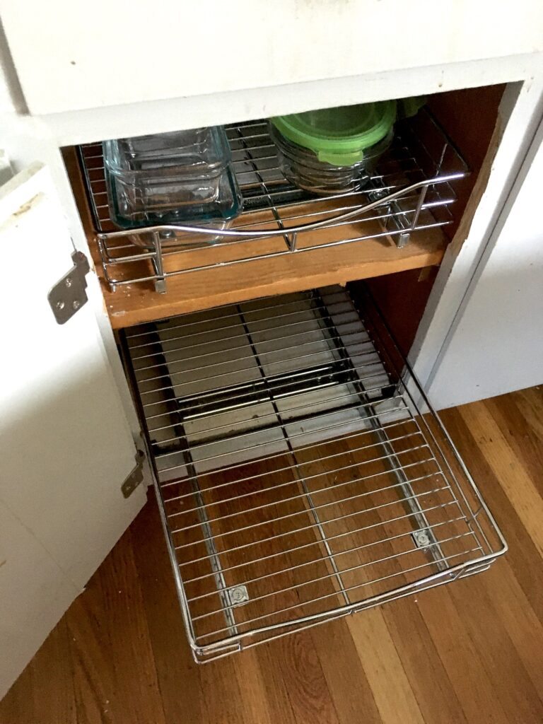 Why I Installed Sliding Metal Drawers In All My Kitchen Cabinets And How To Do It