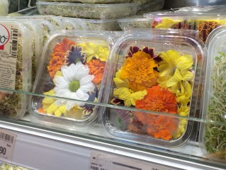 Flori comestibile @ Eataly