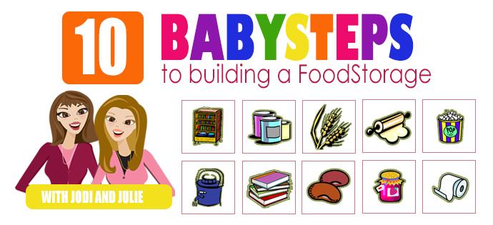 BabySteps - Food Storage Made Easy - printable checklist
