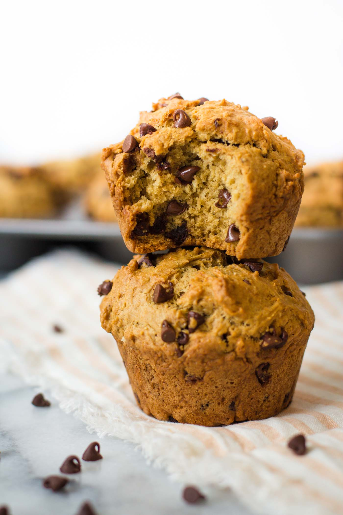Muffins Kinder Country Chocolate Chip Vegan Muffins Food With Feeling