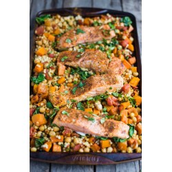 Cool Squash Couscous Food Adelicious Moroccan One Pan Salmon One Pan Salmon Mango Salsa Squash This Recipe Is Made Salmon Salmon Fishcakes Side Dish Feeling Side Dish nice food Side Dish For Salmon