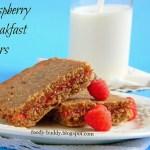 Raspberry Breakfast Bars / Healthy Breakfast Bars