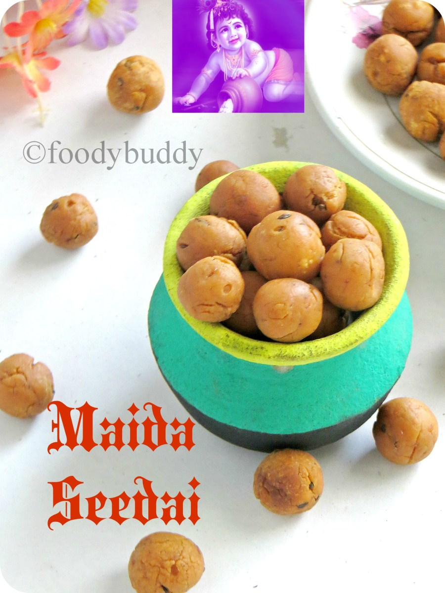 Maida Seedai / Easy No Burst Seedai Recipe