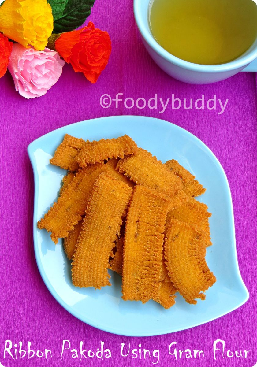 Ribbon Pakoda Recipe With Gram Flour
