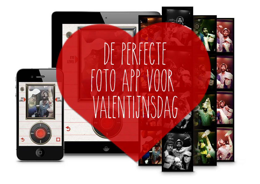 IncrediBooth is de perfecte foto app voor jouw Valentijnsdag